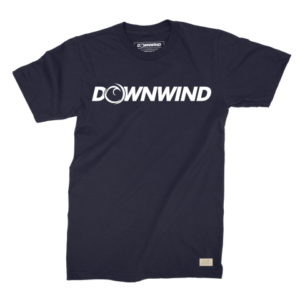 Downwind - T-Shirt - Logo Tee - Black