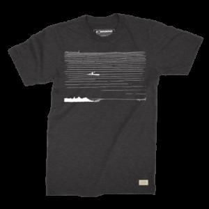 Downwind - T-Shirt - SKI Crusier - Black