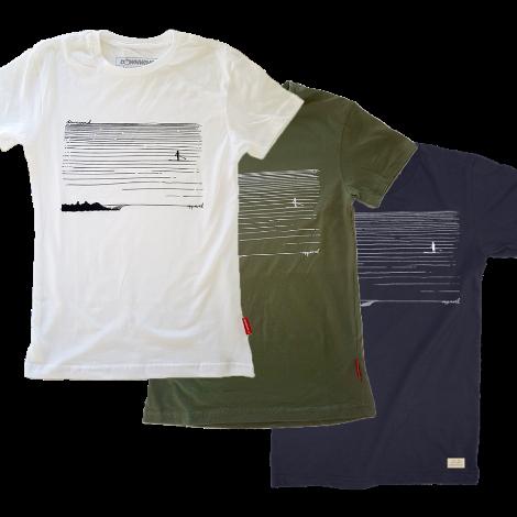 Downwind - T Shirt - SUP Cruiser - All