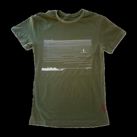 Downwind - T Shirt - SUP Cruiser - Olive