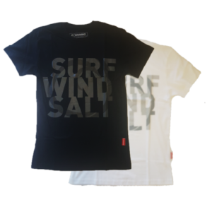 Downwind - T Shirt - Surf Wind Salt - All