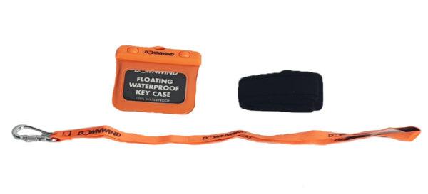 Downwind - Waterproof Pouch - Orange - Small