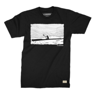 Downwind - T-Shirt - Radar - Black - Large